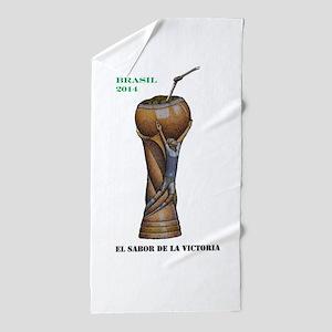 Argentina en la Copa de 2014 Beach Towel