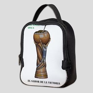 Argentina en la Copa de 2014 Neoprene Lunch Bag