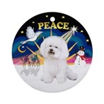 Xsunrise - Bichon 1 Ornament (Round)