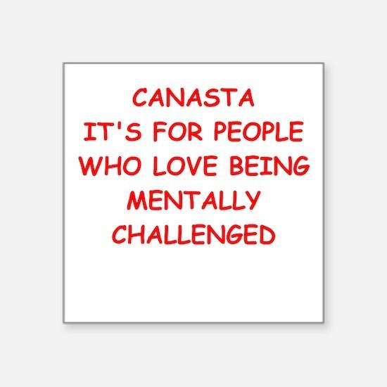 CANASTA Sticker