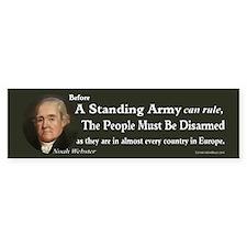 Standing Army Bumper Sticker