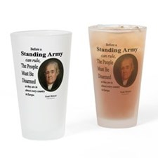Standing Army Drinking Glass