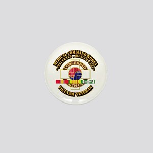 Medical Command Korea w SVC Ribbon Mini Button