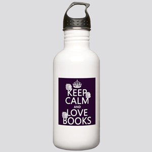 Keep Calm and Love ... Sports Water Bottle