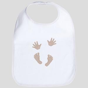 Adorable Baby Hand and Feet Bib