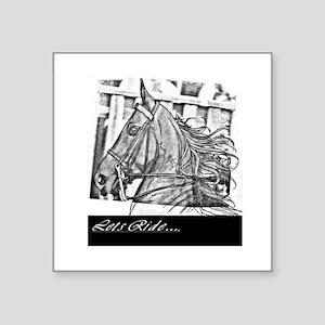 Saddlebred - Lets ride Sticker