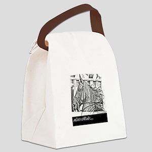 Saddlebred - Lets ride Canvas Lunch Bag