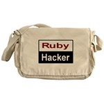 Ruby hacker Messenger Bag
