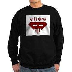 Speed-metal Ruby Sweatshirt (dark)