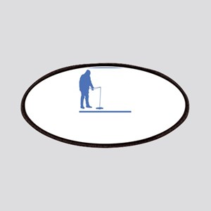 Ice Fishing Design Patch