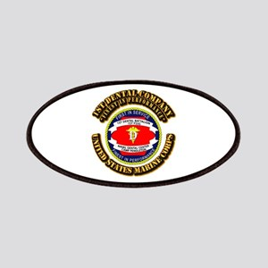 USMC - 1st Dental Company with Text Patches