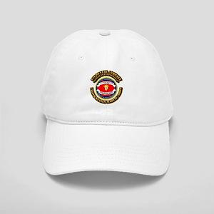 USMC - 1st Dental Company with Text Cap