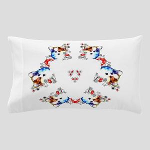 Way too cute Corgi Heart Pillow Case
