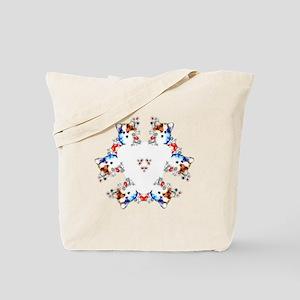 Way too cute Corgi Heart Tote Bag