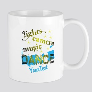 Customize Text Dance Mugs - Right