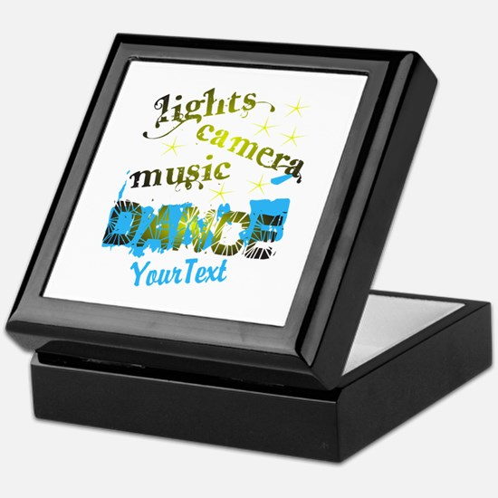CUSTOMIZE Text Dance Keepsake Box