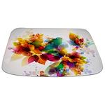 Colorful Floral Bathmat