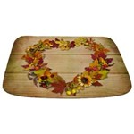 Thanksgiving Heart Bathmat