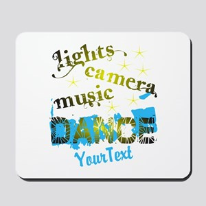 CUSTOMIZE Text Dance Mousepad