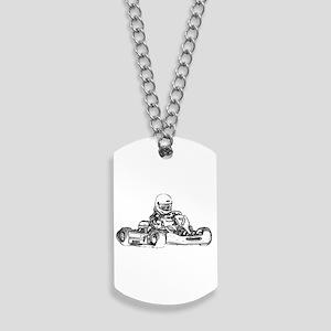 Kart Racing Dog Tags
