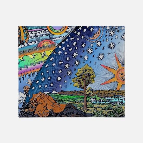Starry Night Blanket Throw Blanket