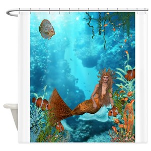 Coral Reef Shower Curtains