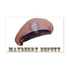 Mayberry Deputy Hat Wall Decal