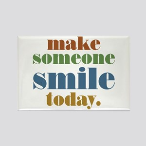 Make Someone Smile Rectangle Magnet