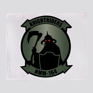 USMC - HMM - 164 Throw Blanket