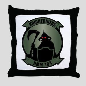 USMC - HMM - 164 Throw Pillow