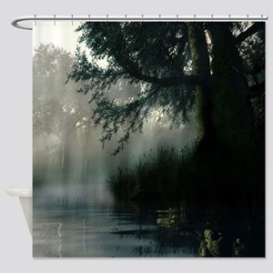 Rain II Shower Curtain