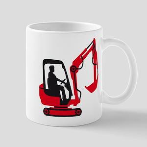 Excavator driver Mugs