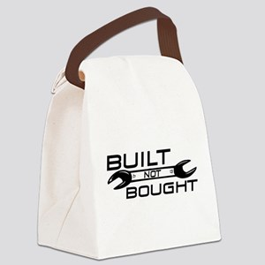 Built Not Bought Canvas Lunch Bag