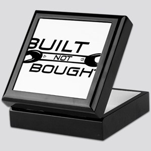 Built Not Bought Keepsake Box