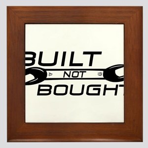 Built Not Bought Framed Tile