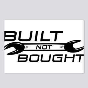 Built Not Bought Postcards (Package of 8)