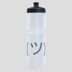 Shrug Emoticon Japanese Kaomoji Sports Bottle
