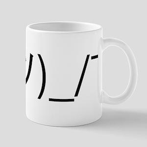 Shrug Emoticon Japanese Kaomoji Mugs