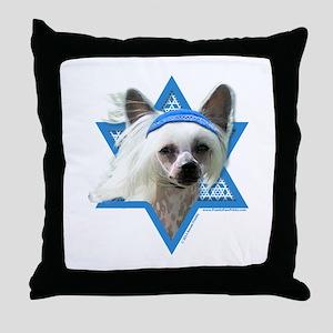 Hanukkah Star of David - Crestie Throw Pillow