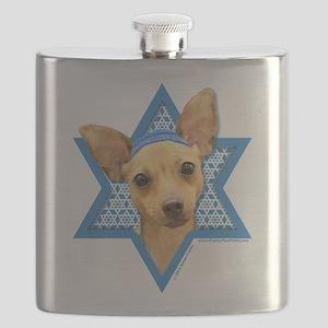 Hanukkah Star of David - Chihuahua Flask