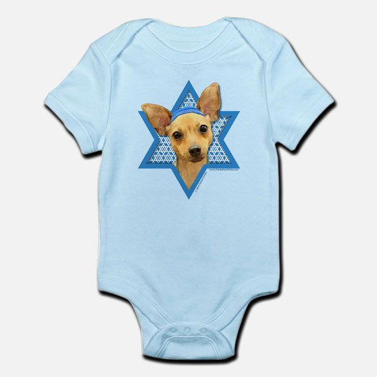 Hanukkah Star of David - Chihuahua Infant Bodysuit