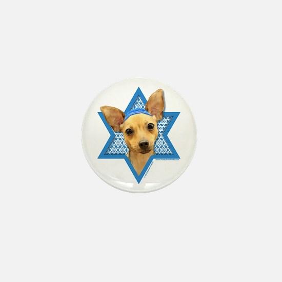 Hanukkah Star of David - Chihuahua Mini Button
