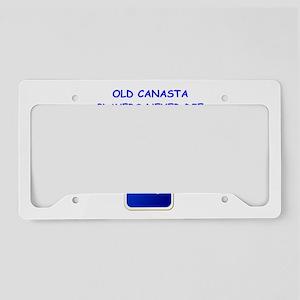 CANASTA3 License Plate Holder