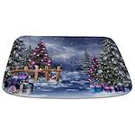 Christmas Landscape Bathmat