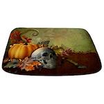 Halloween Skull Bathmat