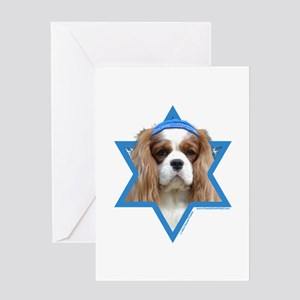 Hanukkah Star of David - Cavalier Greeting Card