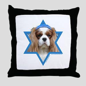 Hanukkah Star of David - Cavalier Throw Pillow