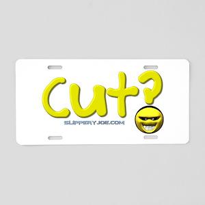 cut_5 Aluminum License Plate