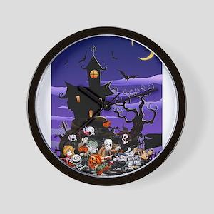 Kids Halloweening Wall Clock