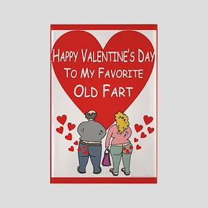 Old Fart Valentine Magnets